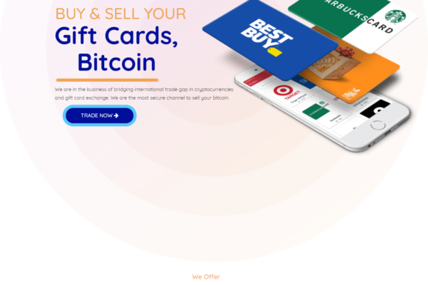 BlazzyXchange Bitcoin & Gift Cards Exchange Platform